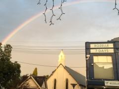 Rainbow over Rozelle