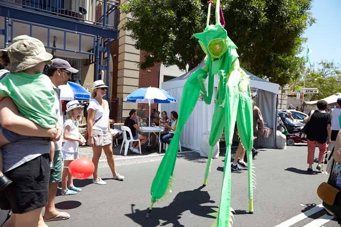 Green Alien at The Rozelle Village Fair.jpg