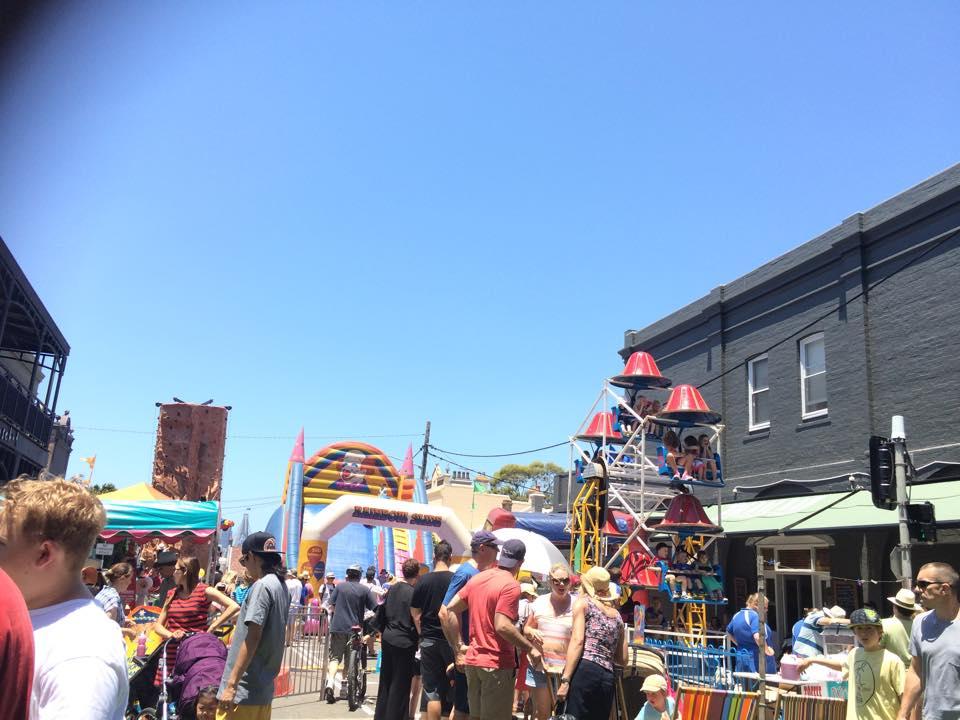 Kid's entertainment Rozelle Village Fair.jpg