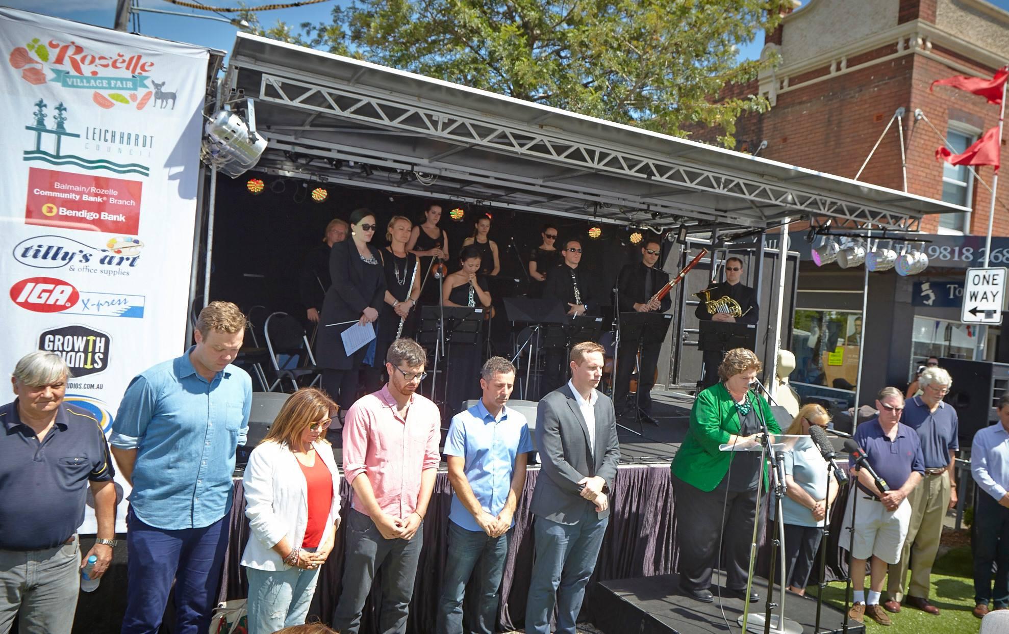 Memorial Ceremony at Rozelle V Fair 2014.jpg