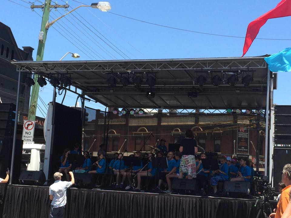 Rozelle Public School Band at the Village Fair.jpg