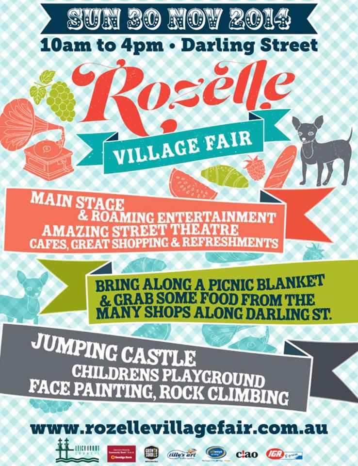 Rozelle Village Fair  Poster 2014.jpg